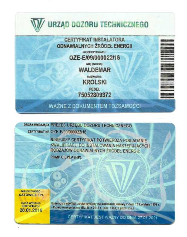 certyfikat-oze